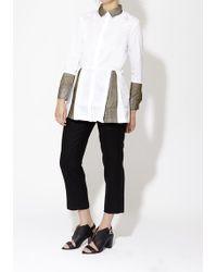Peridot London White Angel Shirt - Lyst