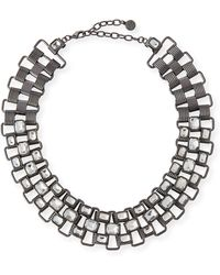 R.j. Graziano - Statement Collar Necklace - Lyst