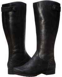 Rockport Tristina Quilted Waterproof Boot Wide Shaft - Lyst