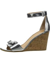 Marc By Marc Jacobs Logo Disc Wedge Sandal - Lyst