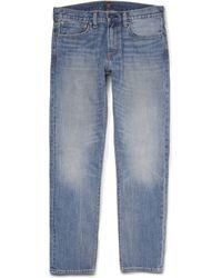 J.Crew | 484 Slimfit Washed Denim Jeans | Lyst