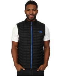 The North Face Black Thermoball™ Vest - Lyst