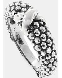 Lagos | 'signature Caviar' Ring - Sterling Silver | Lyst