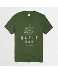 J.Crew Factory Maple Bar Tee - Lyst