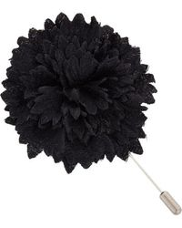 Lanvin Textured Carnation Tie Pin - Lyst