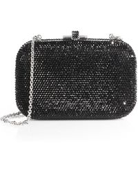 Judith Leiber Crystal-Embellished Minaudiere - Lyst