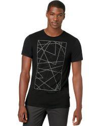 Calvin Klein One Line Art Graphic T Shirt - Lyst