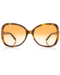Tory Burch Oversized T-hinge Sunglasses - Lyst