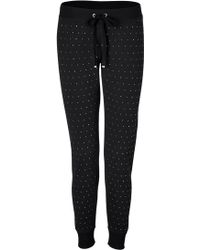 Juicy Couture Studded Sweatpants - Lyst
