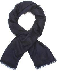 Proenza Schouler Wool Modal Shabouri Jacquard Scarf blue - Lyst