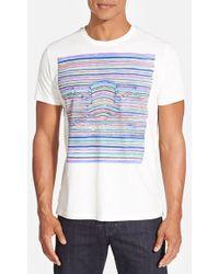 Robert Graham 'Bowler Hat' Graphic T-Shirt - Lyst