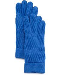 Portolano   Cashmere Honeycomb Gloves   Lyst
