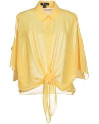 Cutie Yellow Shirt - Lyst