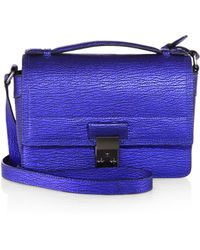 3.1 Phillip Lim Pashli Metallic Mini Messenger Bag - Lyst