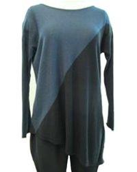 Acrobat Diagonal Colorblock Sweater - Lyst