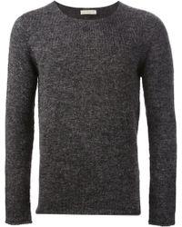 Roberto Collina Round Neck Classic Sweater - Lyst