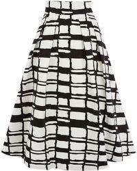 Coast Irris Check Skirt - Lyst