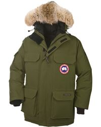 Canada Goose kids sale discounts - Canada goose 'Pbi Expedition' Youth Down Parka in Blue for Men | Lyst