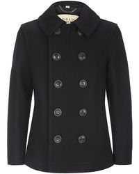 Burberry Brit Doublebreasted Woolblend Jacket - Lyst