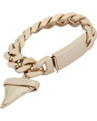 Givenchy Id Bracelet With Shark Tooth-Shaped Charm - Lyst