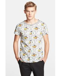 Moschino 'Money Mouse' Graphic T-Shirt - Lyst