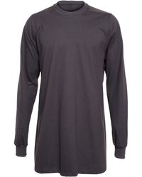 Rick Owens Cotton Sweatshirt - Lyst