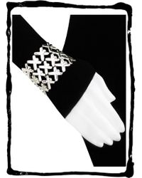 10 Corso Como - 10 CORSO COMO Dahlia sterling silver bracelet - Lyst