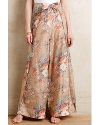 Zimmermann Vintage Bloom Wide-Legs floral - Lyst