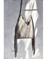 Ecote - Suede Fringe Day Tote Bag - Lyst