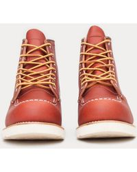 Red Wing - Redwing Moc Toe Boot - Lyst
