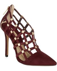Michael Kors Agnes Caged Heels - Lyst
