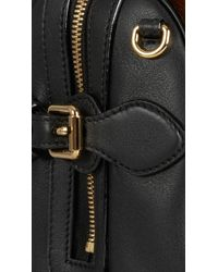 Burberry - The Small Alchester In Calfskin And Leather - Lyst