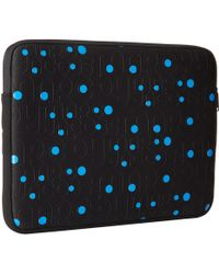 "Marc By Marc Jacobs Mbmj Logo Embossed Neoprene 13"" Computer Case - Lyst"