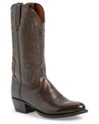 Lucchese | 'lonestar' Western Boot | Lyst