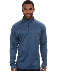The North Face Warm Ls Zip Neck - Lyst