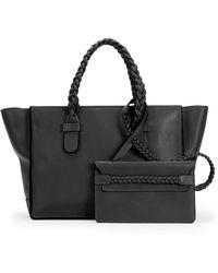 Valentino T.B.C. Braided Small Tote Bag - Lyst