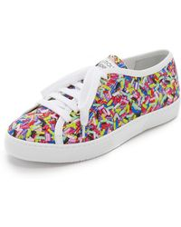 Boutique Moschino - Printed Sneakers - Lyst