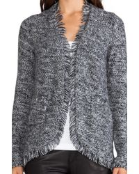 Autumn Cashmere - Tweed Open Jacket - Lyst