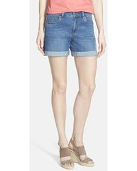 Two By Vince Camuto | Five Pocket Denim Shorts | Lyst