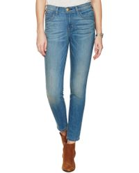 Current/Elliott The Highwaist Stiletto blue - Lyst