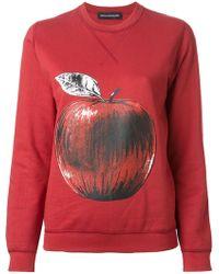 Ostwald Helgason - Apple Print Sweatshirt - Lyst