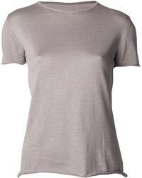 Lucien Pellat Finet - Round Neck T-Shirt - Lyst