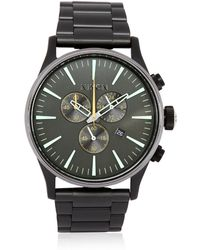 Nixon The Sentry Chronograph Watch - Lyst