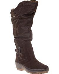 Pajar Natasha Snow Boot Brown Fabric - Lyst