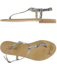 Tosca Blu Thong Sandal - Lyst
