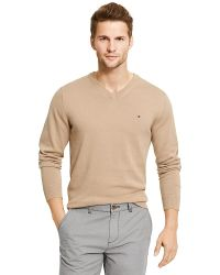 Tommy Hilfiger Classic V-Neck Sweater - Lyst