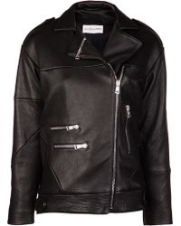 Filles A Papa - Leather Jacket - Lyst