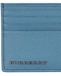 Burberry London Saffiano Cardholder - Lyst
