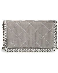 Stella McCartney Falabella Quilted Cross-Body Bag - Lyst