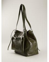 Mm6 By Maison Martin Margiela Zip Pocket Shoulder Bag - Lyst